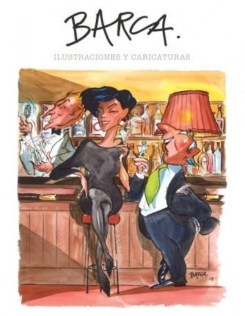 Barca. Ilustraciones y Caricaturas 1970- 2017
