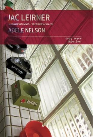 Jack Leirner in conversation with / en conversación con Adele Nelson